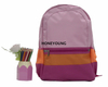 Discount Sewing Pattern Rucksack with Side Pockets HY-18A1819
