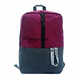 Resin Zipper Outdoor Mixed Color School Bag HY-18A1834