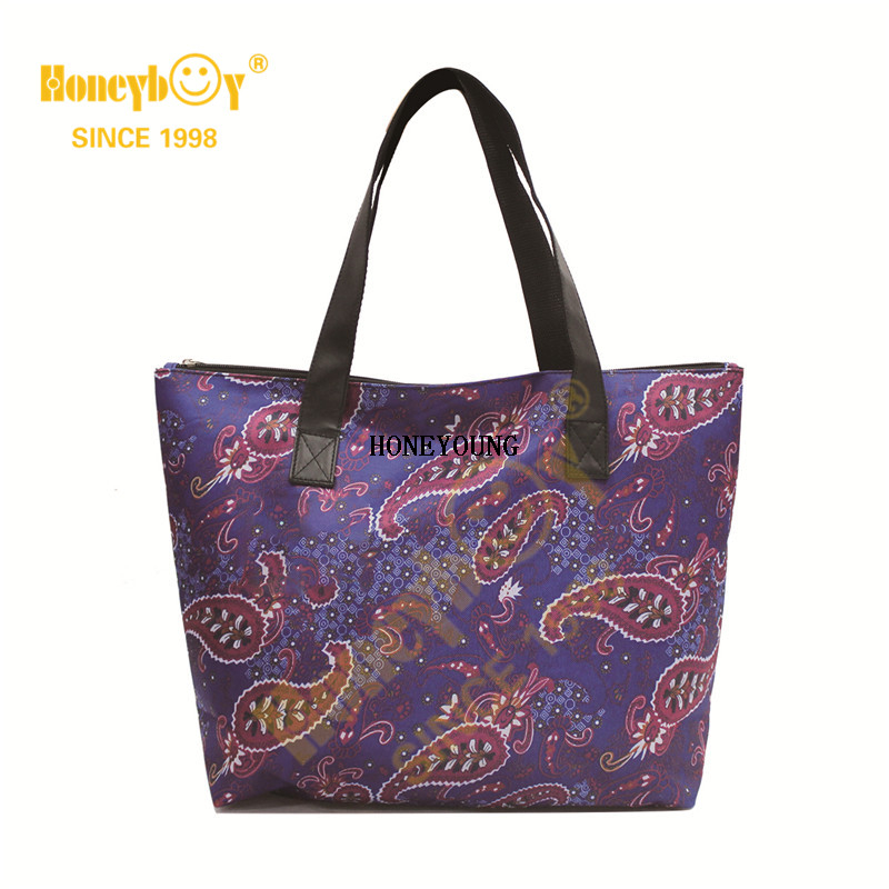 Cool Light Sustainable Creative Fabric Shopping Bag HY-G007