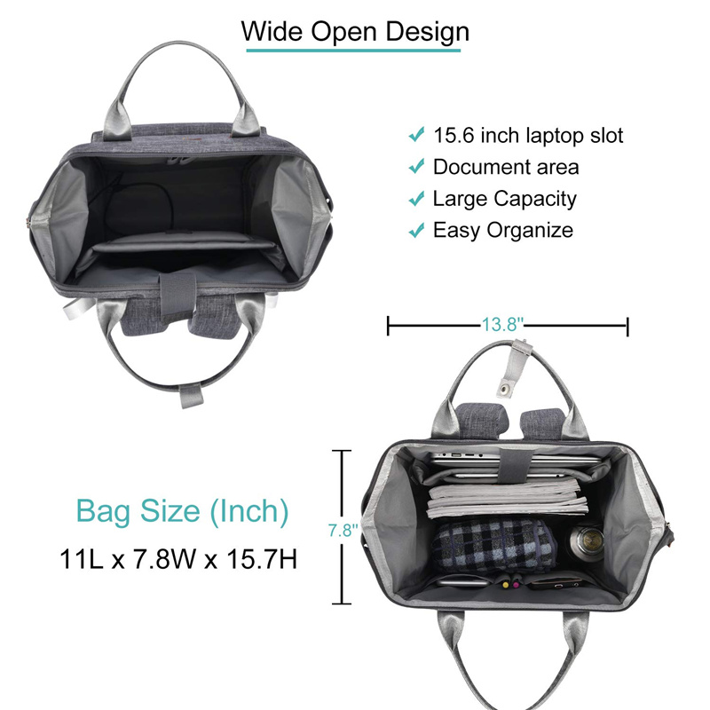 Water Resistant Business Multipurpose Laptop Backpack DIY
