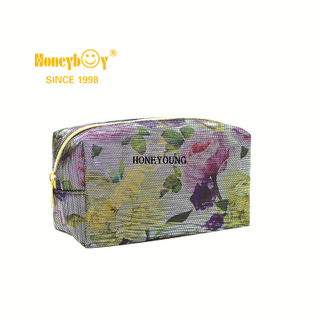 Popular Women Leather Lipstick Wash Cosmetic Bag HY-M004