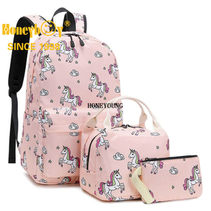 Backpack for School Girls Teens Bookbag Set Kids School Bag 15 inches Laptop Daypack