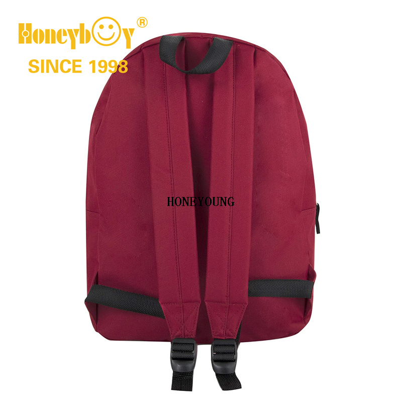 Factory Supplier Simple Solid Color Traditional School Bag