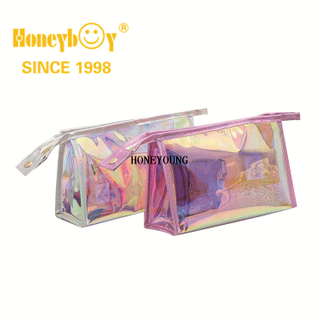 New Style Personlised Travelling Pu Cosmetic Bag HY-M002