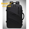 Laptop Backpack Business Carry-on Travel Backpack, Lightweight Flight-Approved Expandable Bag with USB Charging Port