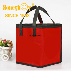Light Simple Custom Cake Non-woven Cooler Bag