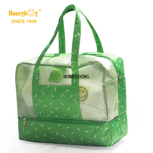Medium Light Waterproof Pattern Women Beach Bag