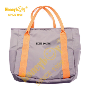 Unique Retail Packable Shopping Bag with Pouch HYG-011