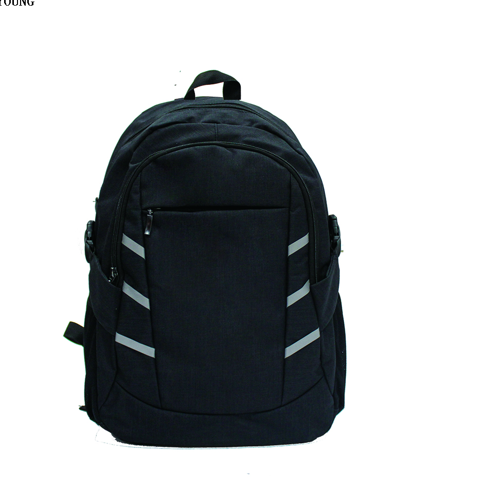 Big Size Reflective Melange School Computer Backpack