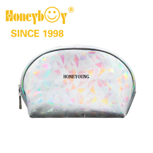 Small Glitter Girls Pu Waterproof Cosmetic Bag HY-M001