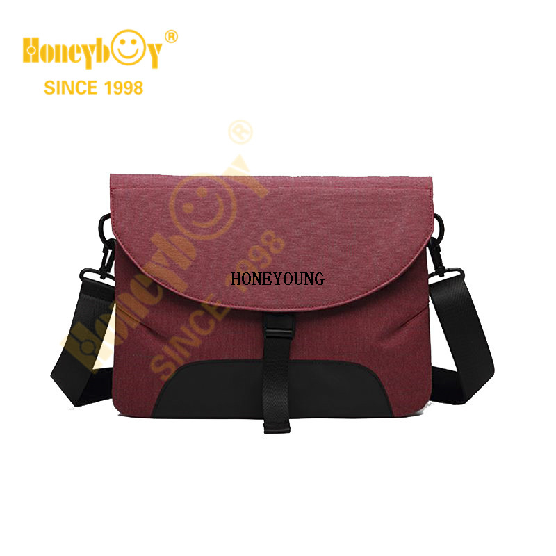 China Fashion Two Tone Computer Shoulder Bag