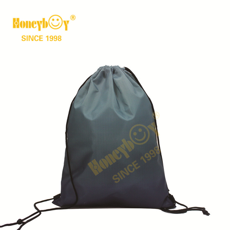 New Style Drawstring Backpack with Gradient Color
