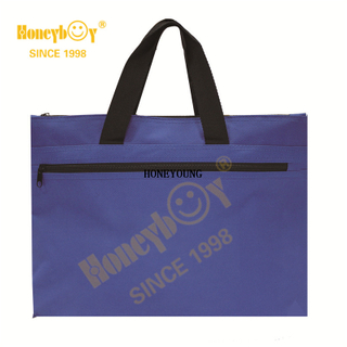 Wholesale Simple Light Polyester Computer Hand Bag HY-G003