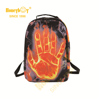 Fashionable Customized Printing Teenager Outdoor School Backpack HY-A121