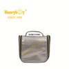 2020 Custom Logo Cosmetic Bag PU Transparent