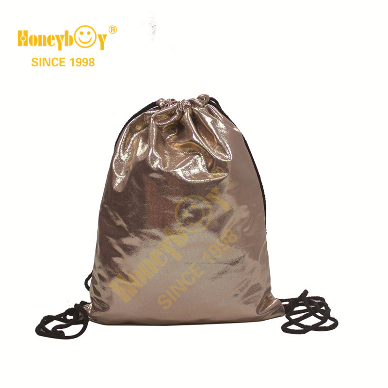 Party Cute Bags PU Fabric Drawstring Backpack