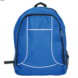 Custom Simple School Promotional Bag with Piping HY19S12