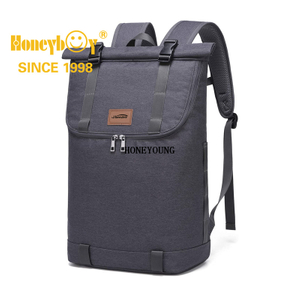 Travel Laptop Backpack Men &Women Top Roll Rucksack Casual Daypack Water Resistant 15.6 Inch Laptop Bag College Backpack for Travel Hiking and Daily Life