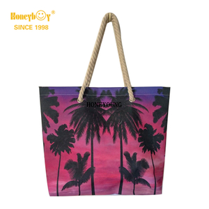 Popular Teenager Girls Coconut Tree Beach Bag