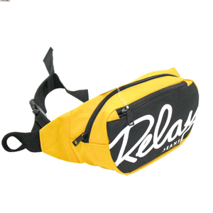 600D Small Logo Printing Cycling Waist Bag