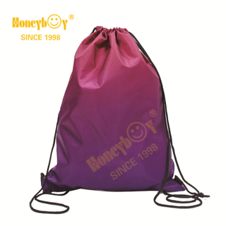 Sports Bags Drawstring Backpack with Gradient Color HY-K005