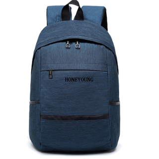 Popular Customized Multi Pockets Teens School Backpack HY-A115