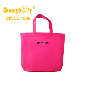 Small Pink Dissolvable Eco Friendly Shopping Bag HY-HS006
