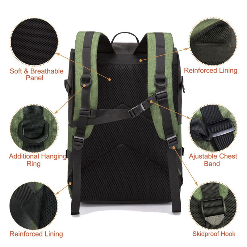 DIY Travel Outdoor Laptop Backpack Water Proof