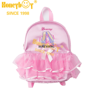 Beautiful Design Waterproof Cute Dancing Children Backpack