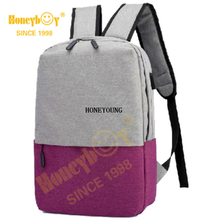 Popular Multicolor Two Tone Laptop Computer Backpack HY-1607