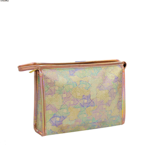 Fashion Style Travel Girls Pu Cosmetic Bag