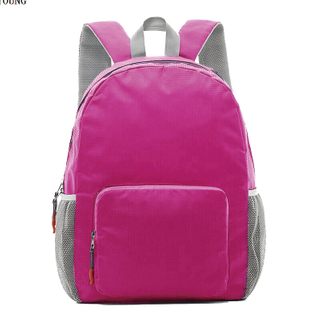 New Fashion Folding Backpack with Headphone Hole HY-U009